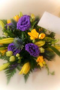 Kwiaty na Dzień Dziadka